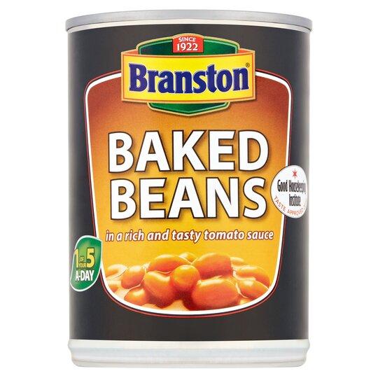 Branston Beans In Tomato Sauce 410g Tesco Groceries