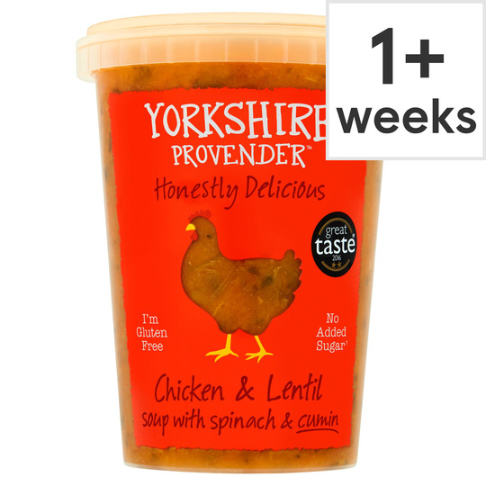 Yorkshire Chicken & Butter Nut Soup With Lentil 600G
