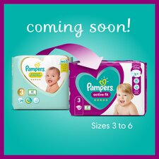 image 3 of Pampers New Baby Size 3 Jumbo Pack 66 Nappies