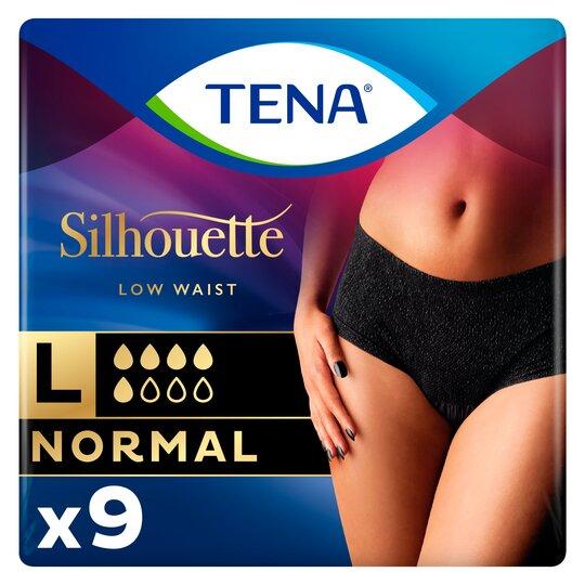 Tena Normal Black Bladder Weakness Large Underwear 9Pcs