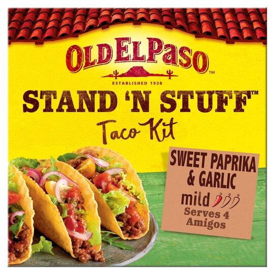 Old El Paso Taco Stand 'N' Stuff Paprika & Garlic Kit 312G