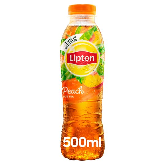 Lipton Ice Tea Peach 500ml Tesco Groceries