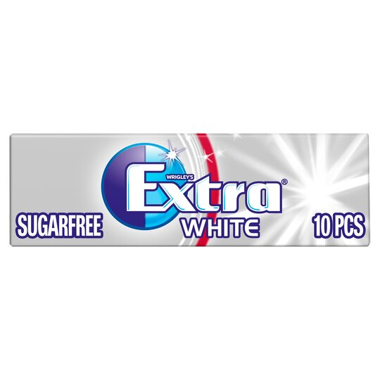 Extra White Peppermint Gum 10 Pieces