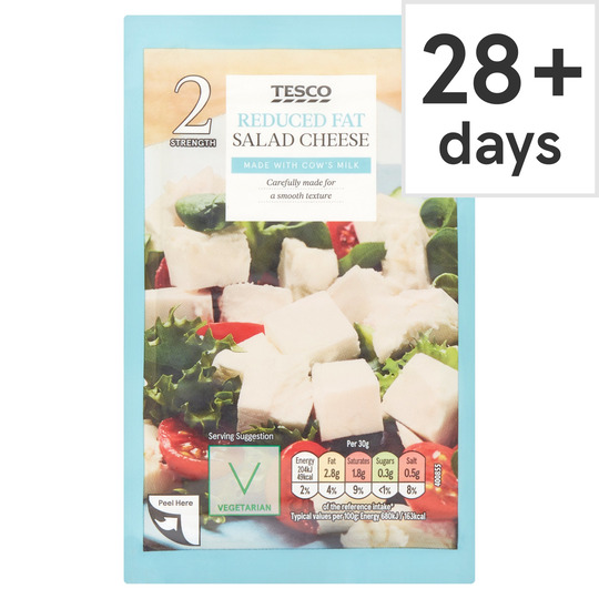 Tesco Lighter Greek Salad Cheese 200G