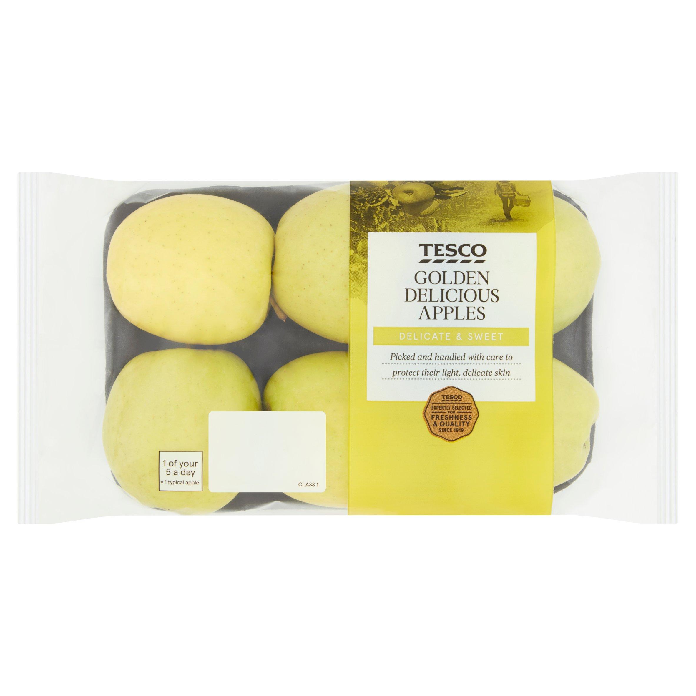 Tesco Golden Delicious Apple Minimum 5