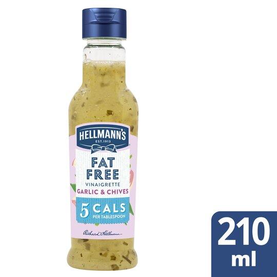 image 1 of Hellmann's Garlic & Chive Salad Dressing 210Ml