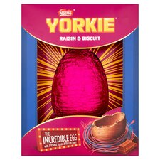 image 2 of Nestle Yorkie Raisin And Biscuit Chocolate Egg