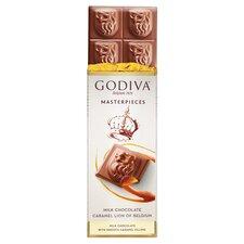 image 2 of Godiva Belgium Milk Chocolate Bar With Caramel 83G