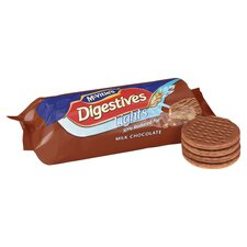image 2 of Mcvities Light Milk Chocolate Digestives 300G