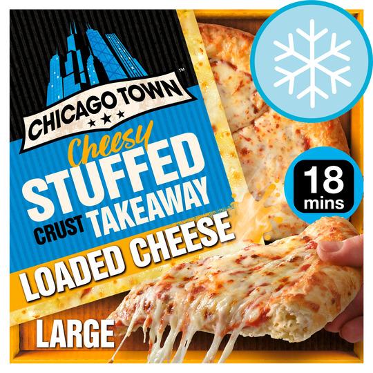 Chicago Town Takeaway Cheesy Stuffed Crust 630G