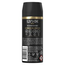 image 3 of Lynx Gold Body Spray Deodorant 150Ml