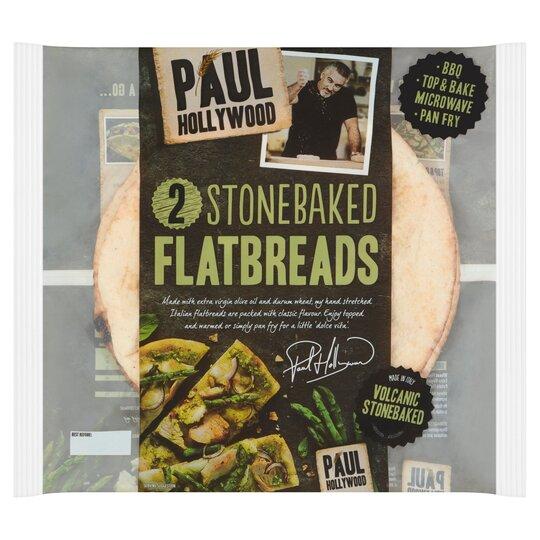 Paul Hollywood 2 Stonebaked Flatbreads