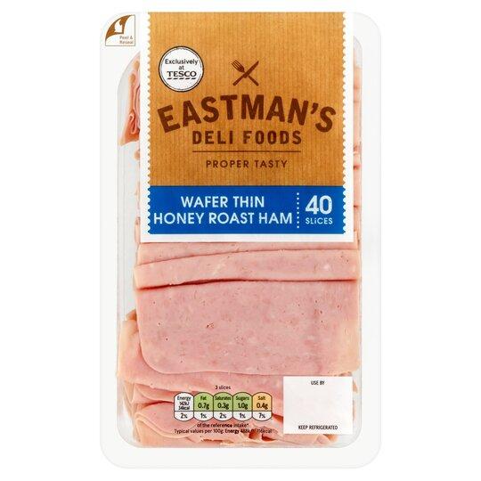 Eastman's Wafer Thin Honey Roast Ham 400G