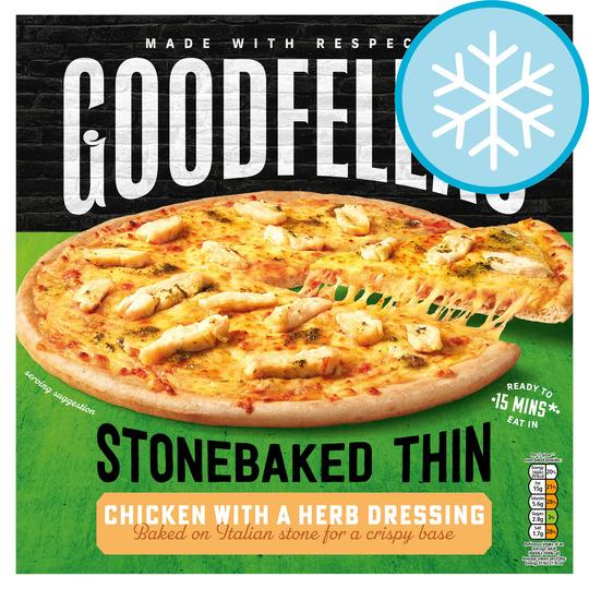 Goodfella's Stonebaked Thin Chicken 365G