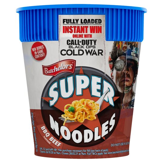 Batchelors Super Noodle Pot Bbq Beef 75G