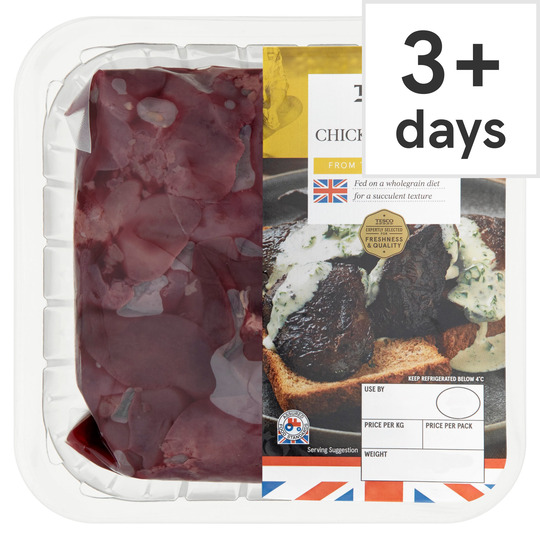 Tesco Fresh Chicken Livers 380g Tesco Groceries