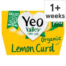 image 1 of Yeo Valley Lemon Curd Yogurt 4X120g