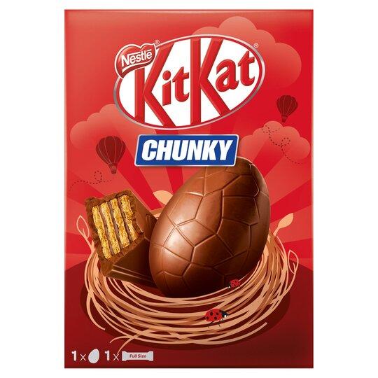 Kit Kat Chunky Medium Easter Egg 140G