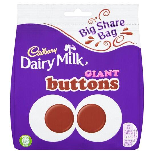 Cadbury Giant Buttons Bag 240G