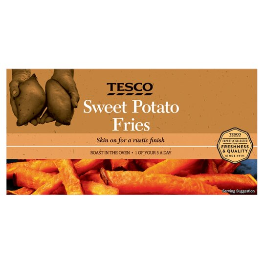 Tesco Sweet Potato Fries 300g Tesco Groceries