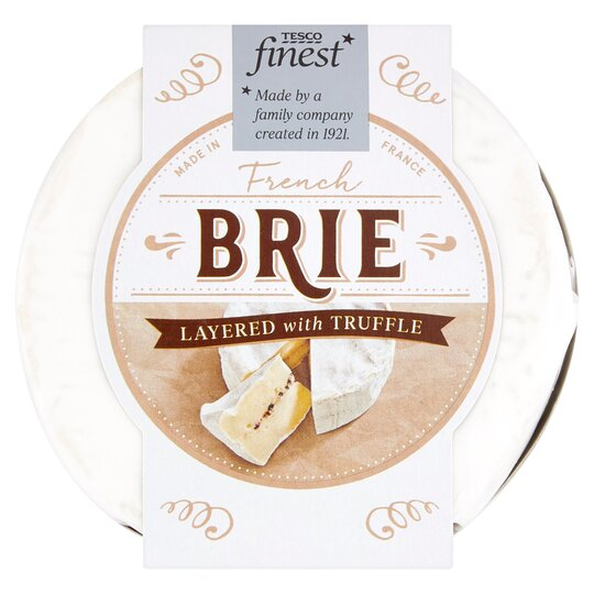 Tesco Finest French Brie With Truffle 135G