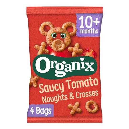Organix Noughts & Crosses 4X15g