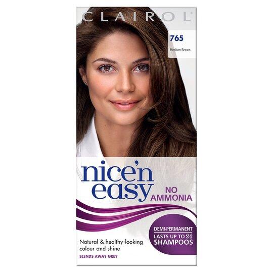 Nice'n Easy No Ammonia Medium Brown 765 Hair Dye