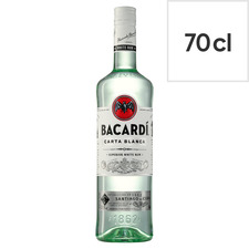 image 1 of Bacardi White Rum 70Cl