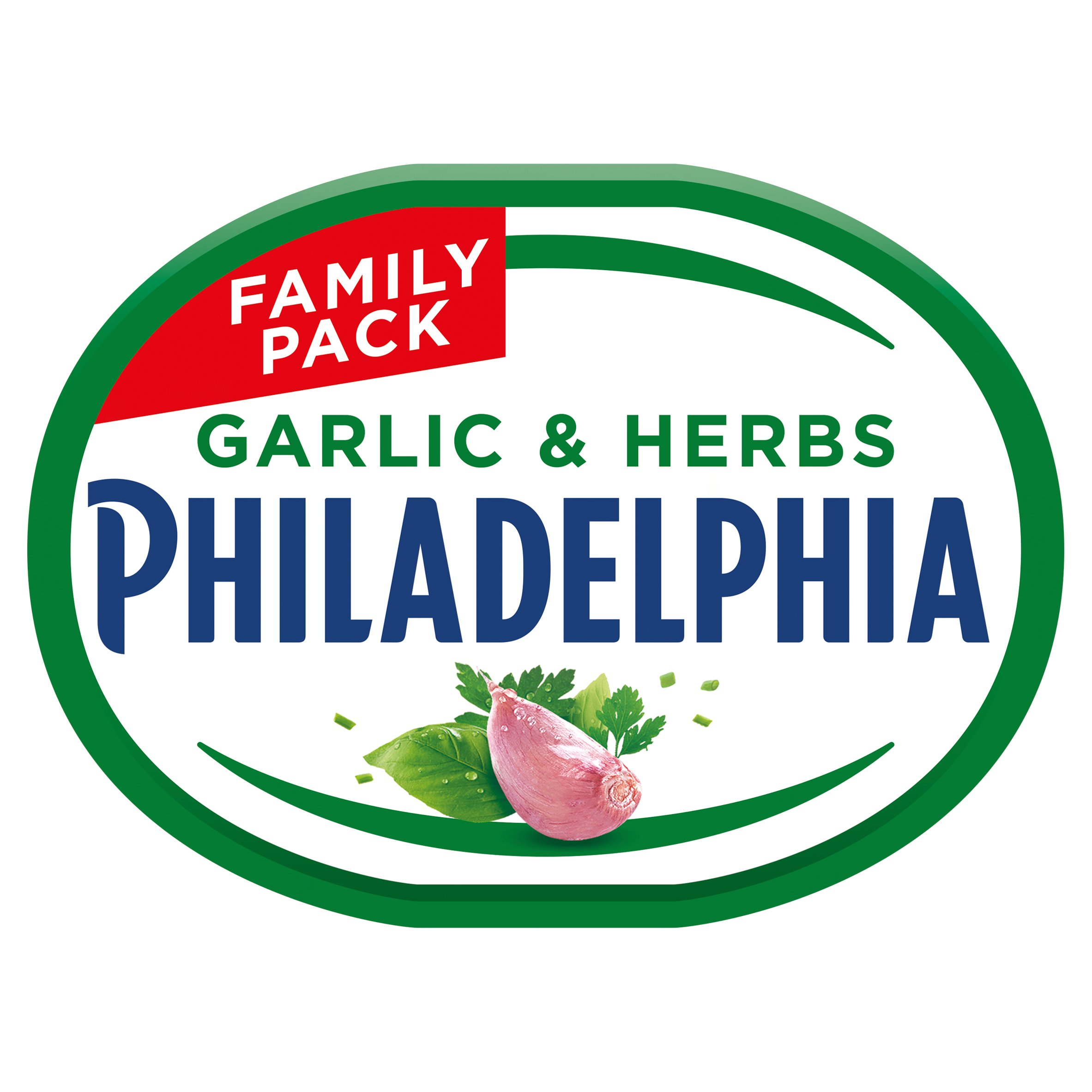 Philadelphia Garlic & Herb 340G
