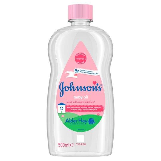 image 1 of Johnson's Baby Oil 500Ml