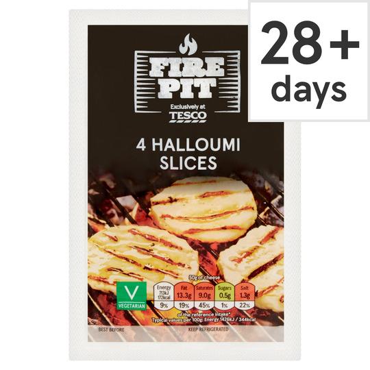 Tesco Halloumi Burger 4X Slices 200G