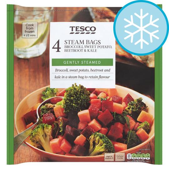 Tesco Micro Vegetable Kale Mix 640g