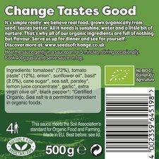 image 2 of Seeds Of Change Tomato & Basil Organic Pasta Sauce 500G