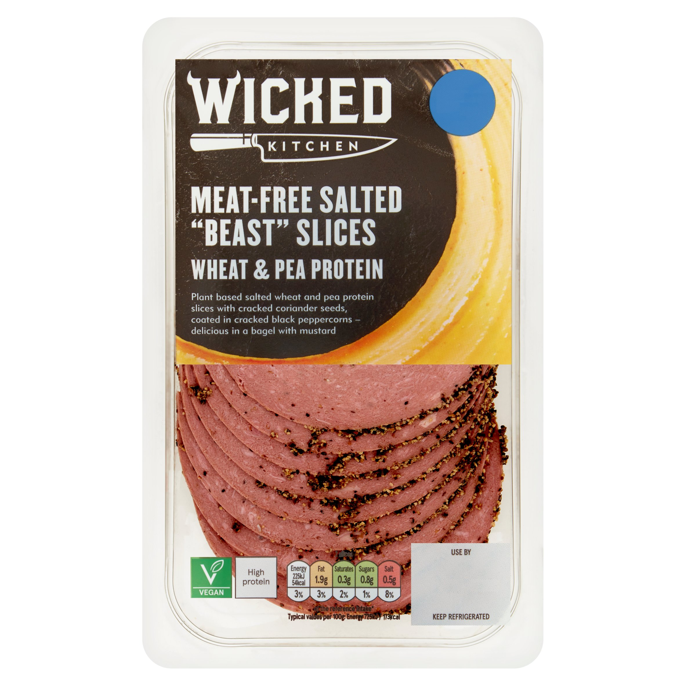 Wicked Kitchen Meat Free Salted Beast Slice 125G