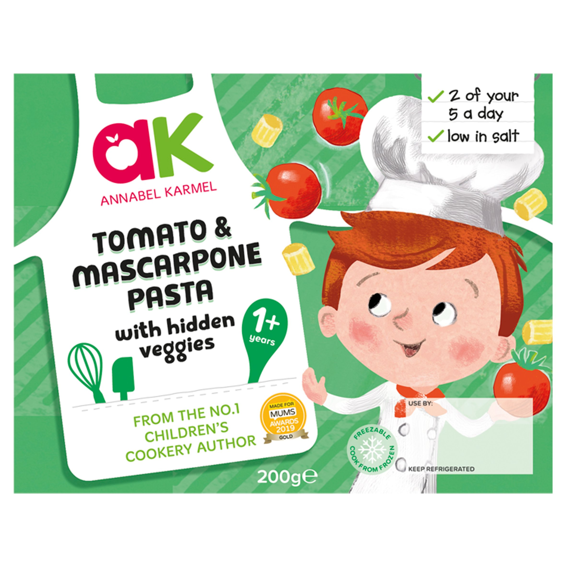 Annabel Karmel Tomato & Mascarpone With Vegetables 200G