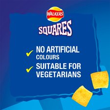 image 3 of Walkers Squares Variety Snacks 12X22g