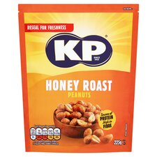 image 1 of Kp Honey Roast Peanuts 225G