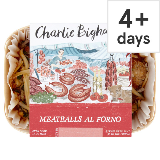 Charlie Bigham's Meatballs Al Forno 325G