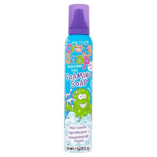 Kids Stuff Crazy Foam Soap Blue 225Ml