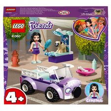image 2 of LEGO Friends Emma's Mobile Vet Clinic Doll Playset 41360