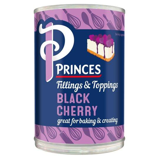 Princes Black Cherry Fruit Filling 410G