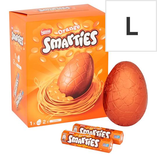 Nestle Smarties Large Orange Egg 256g
