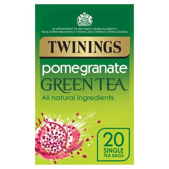 Twinings Green Tea & Pomegranate 20'S 40G