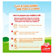 image 5 of Cow & Gate 4 Growing Up Milk Powder 2+ Years 800G