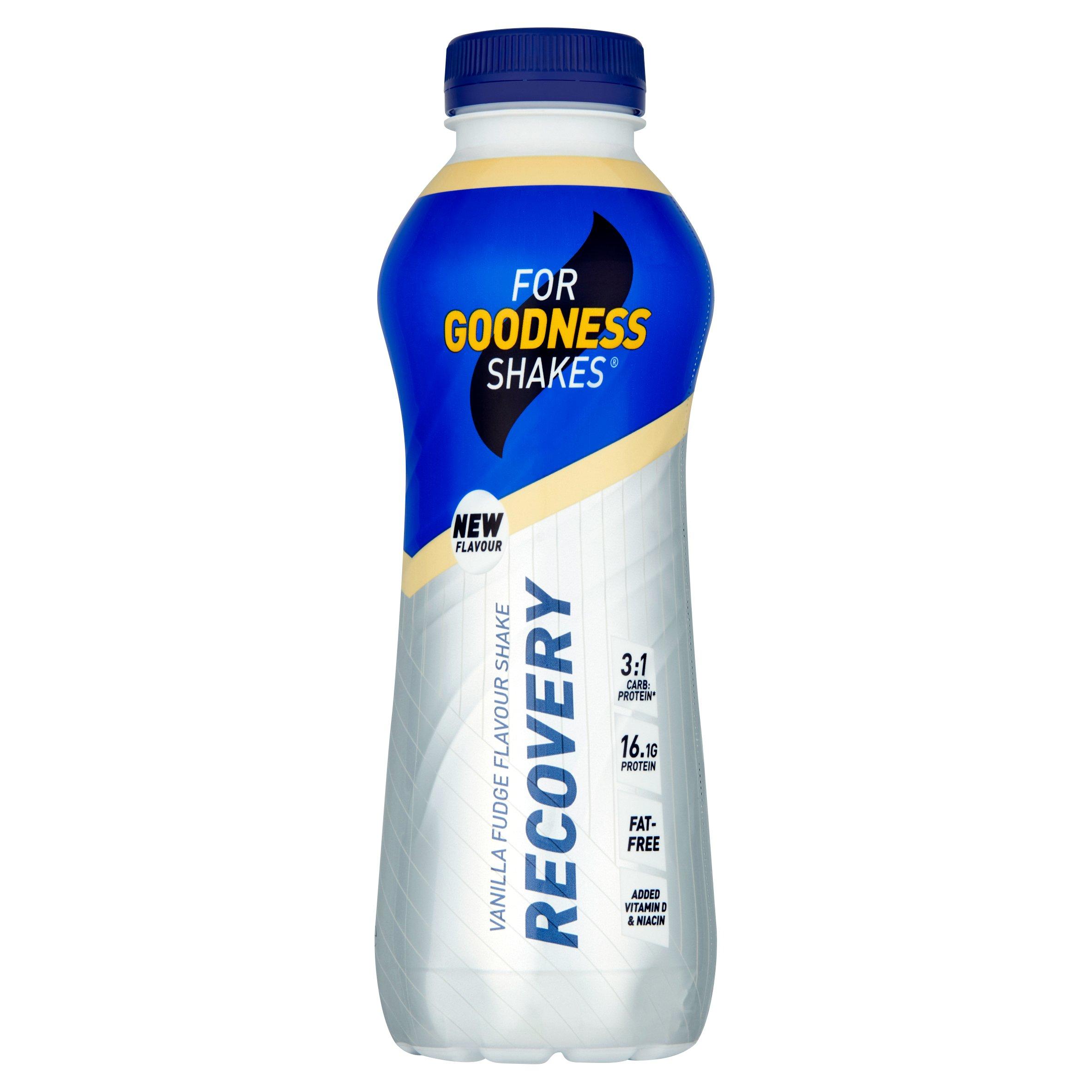 For Goodness Shakes Recovery Vanilla 475Ml