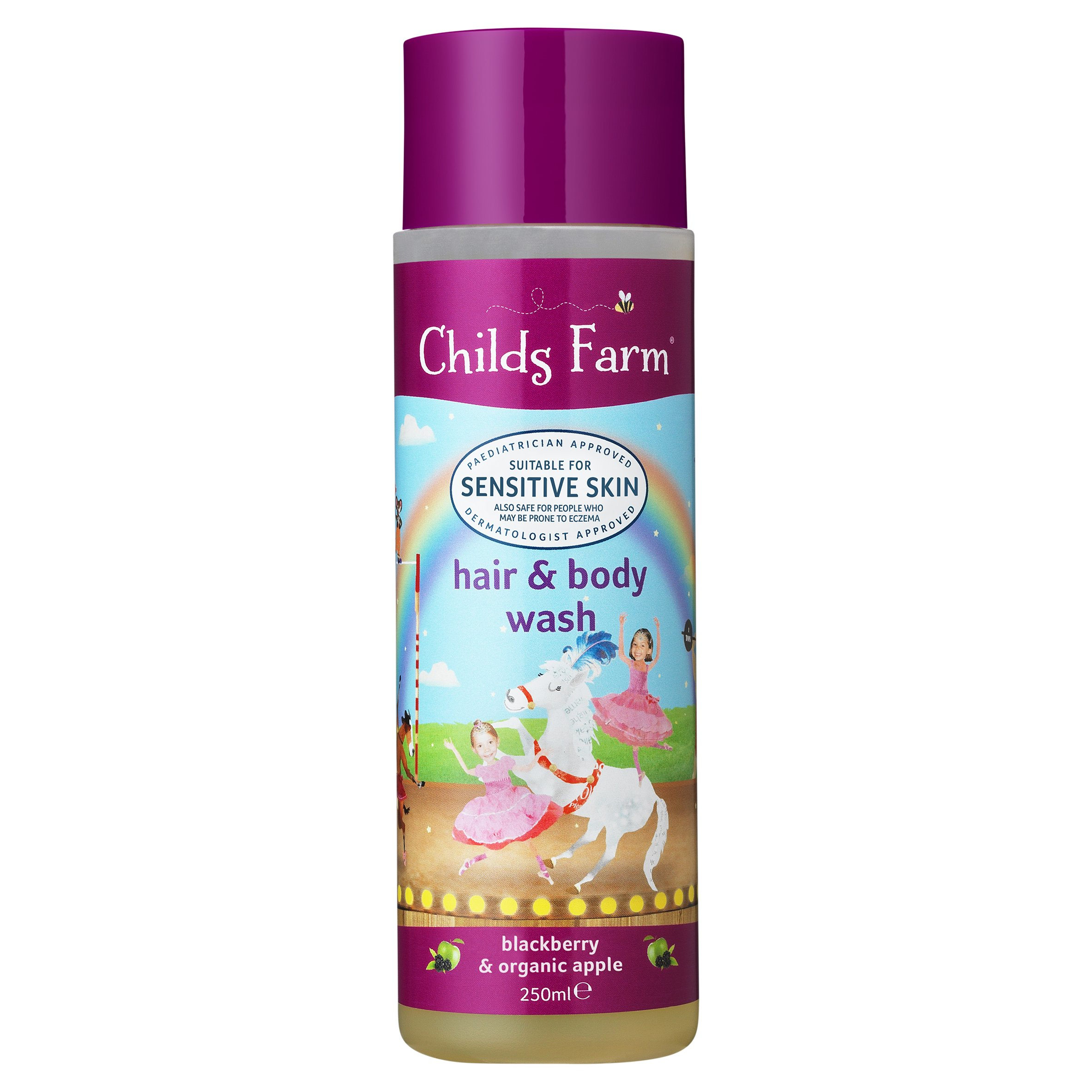 Childs Farm Blackberry & Apple Body Wash 250Ml