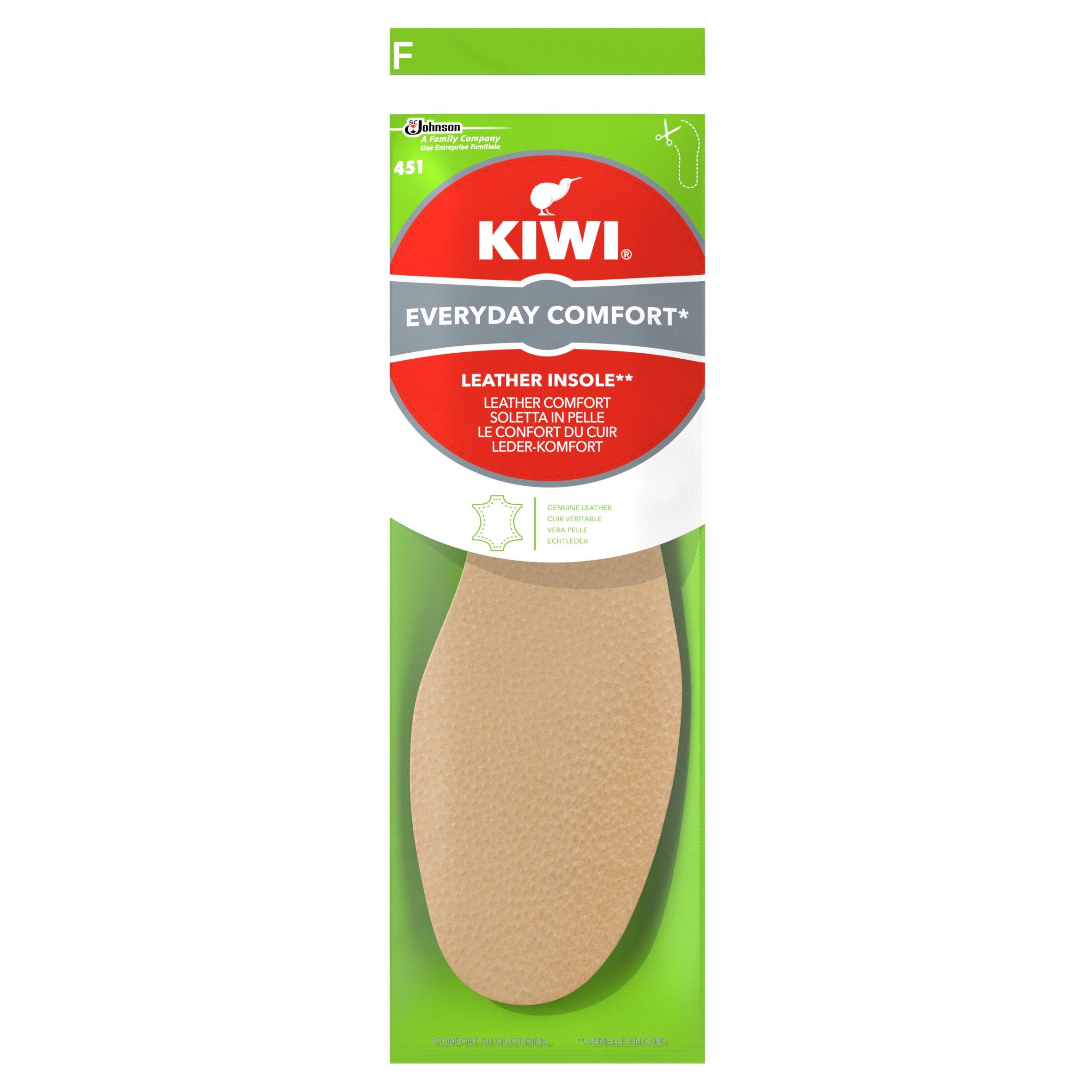 Kiwi Leather Insoles 1Pair - Tesco