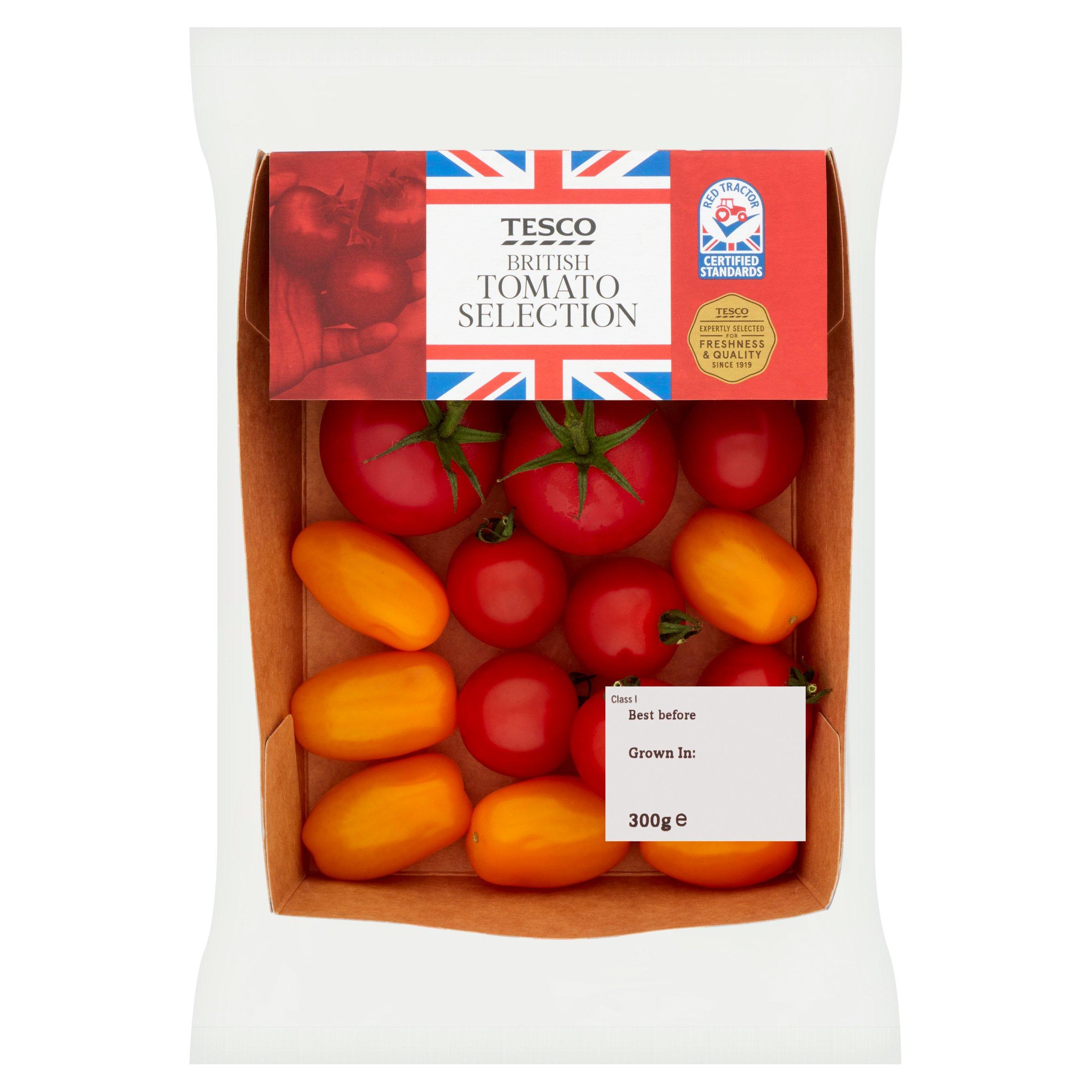 Tesco British Tomato Selection