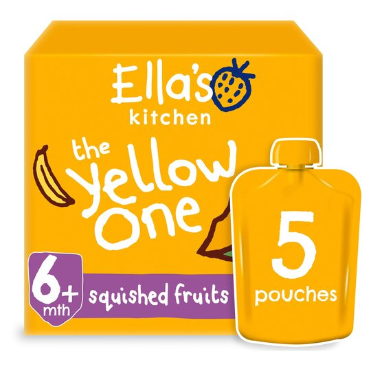Ella's Kitchen The Yellow One Multipack 450G
