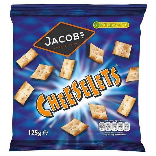 Cheeselets 125G
